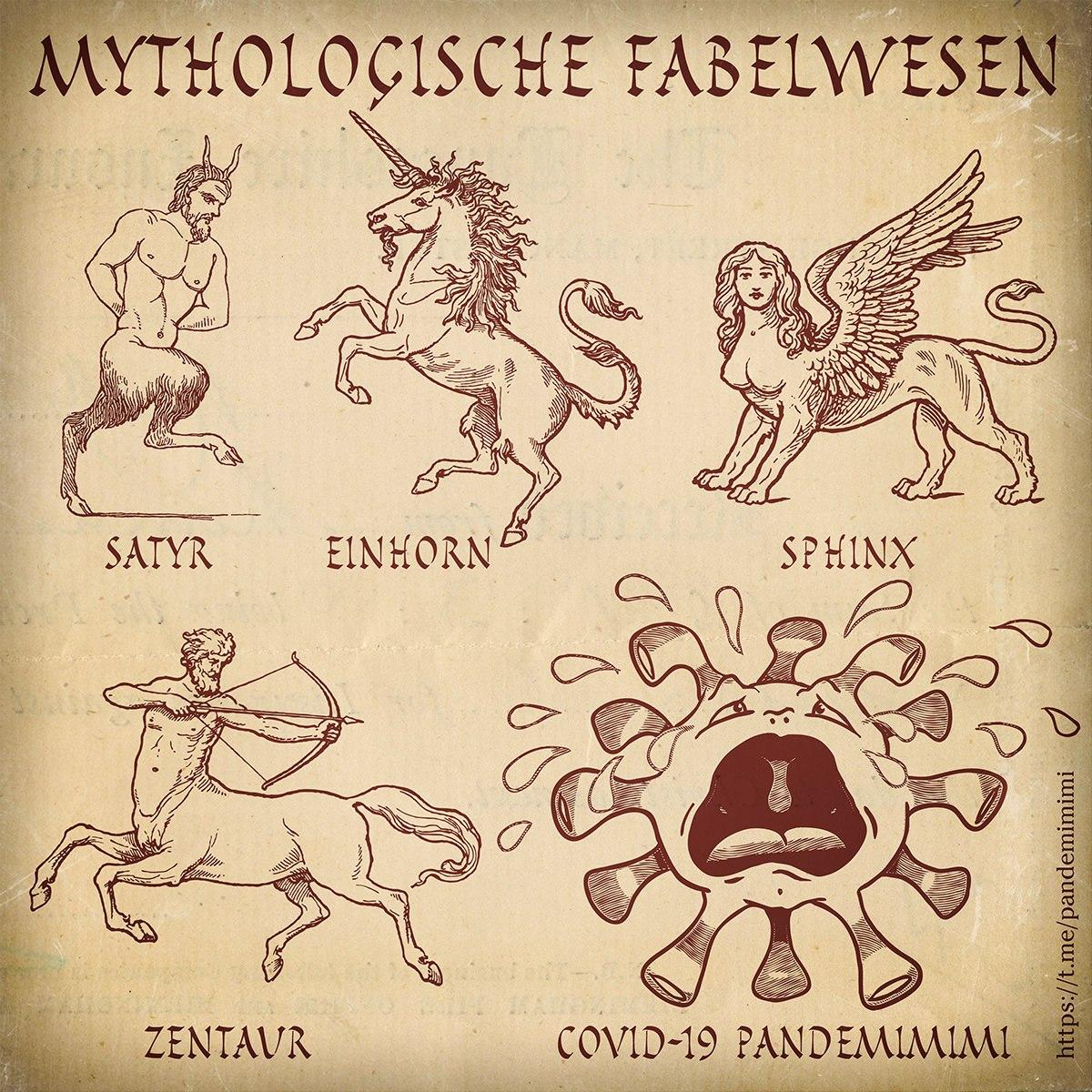 Mythologische Fabelwesen, 23.10.2020