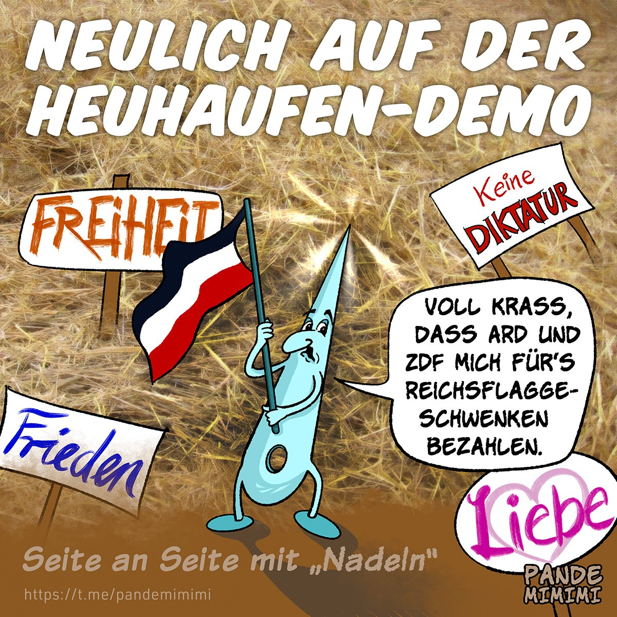 Heuhaufen-Demo, 15.11.2020