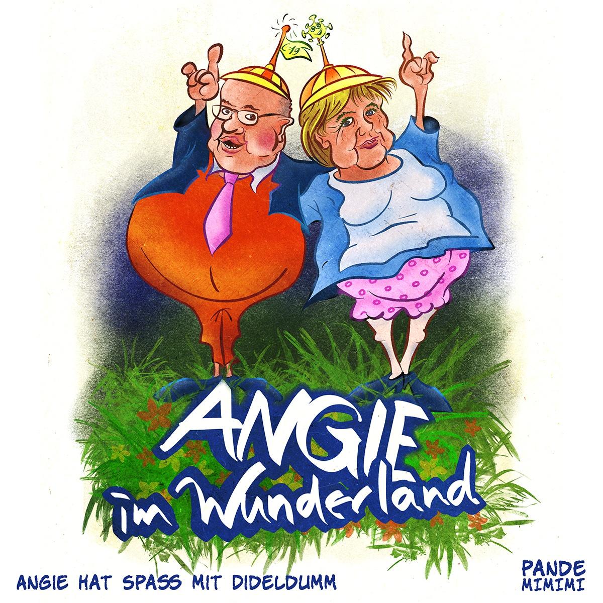 Angie hat Spaß mit Dideldumm, 05.01.2021