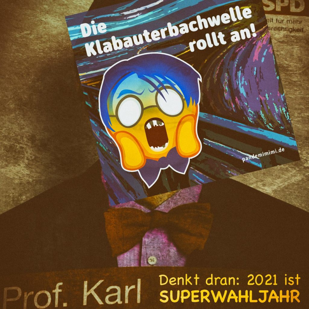 Karl Lauterbach Wahlplakat