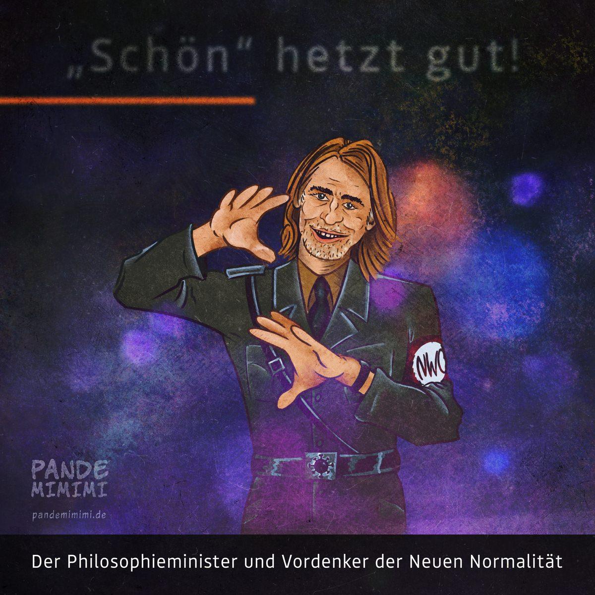 Richard David Precht, der Philosophieminister und Vordenker der Neuen Normalität