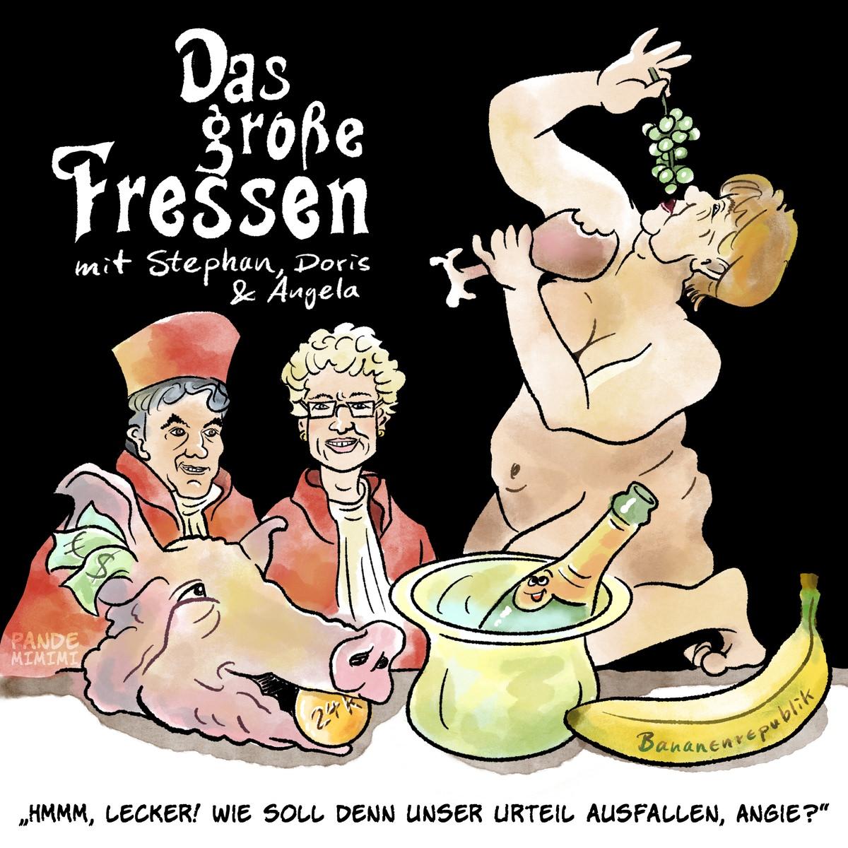 Das große Fressen mit Stephan, Doris & Angela