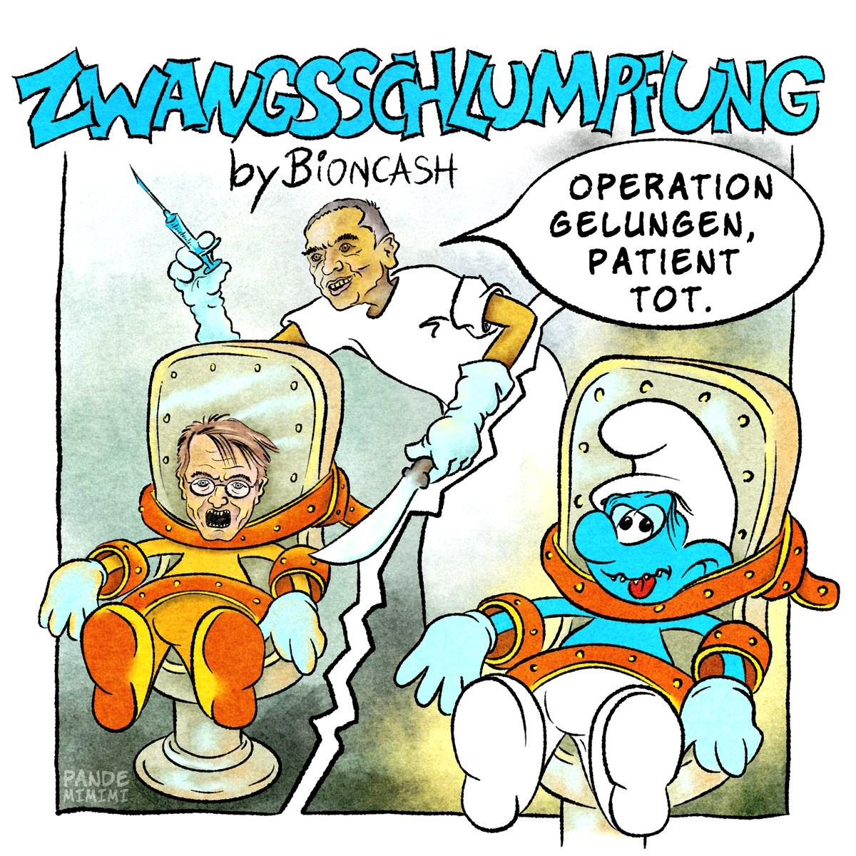 Zwangsschlumpfung by BionCash
